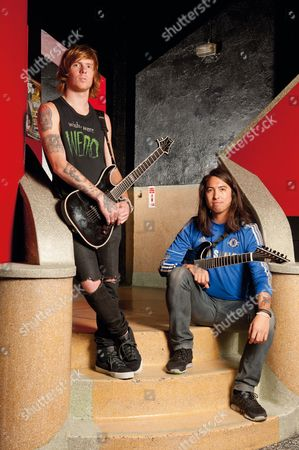 Of Mice and Men - Alan Ashby and Phil Manansala, London, Britain