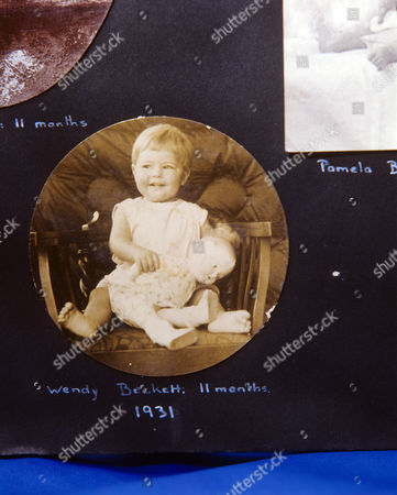Sister Wendy Beckett at 11 months old
