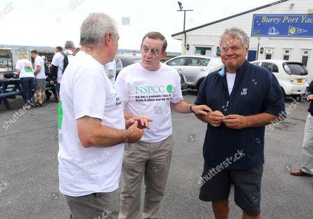 Gareth Edward, Phil Bennett and Max Boyce