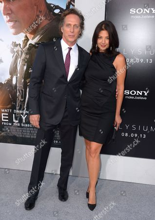 William Fichtner with wife Kymberly Kalil