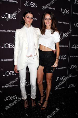 Stock Photo of Zen Sevastyanova and Nicole Trunfio