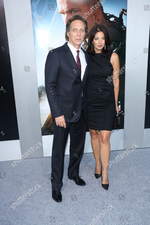 William Fichtner and Kymberly Kalil