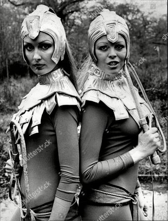 Beulah Hughes And Vilma Riley Who Star In The Television Programme Space 1999.