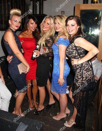 Angela Russell, Lizzie Cundy, Pippa Fulton, Lizzy Connolly, Rachel Rawlinson