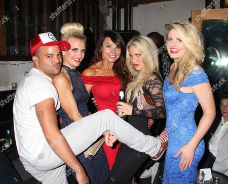 Nate James, Angela Russell, Lizzie Cundy, Pippa Fulton, Lizzy Connolly