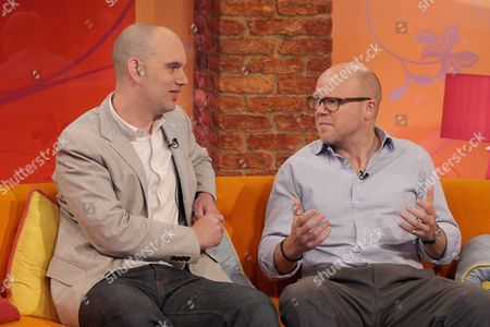 Sam Delaney and Toby Young