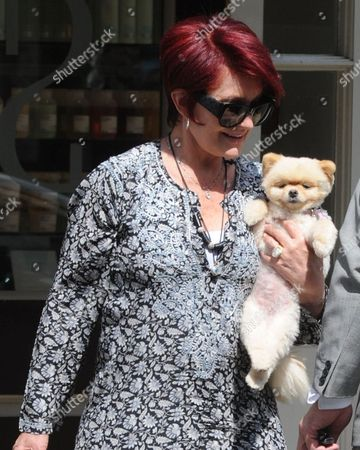Editorial picture of Sharon Osbourne out and about in London, Britain - 08 Aug 2013