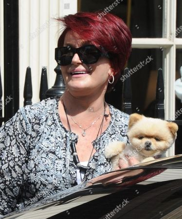 Editorial image of Sharon Osbourne out and about in London, Britain - 08 Aug 2013