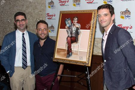 Stock Picture of Jonathan Tolins, Stephen Brackett and Michael Urie