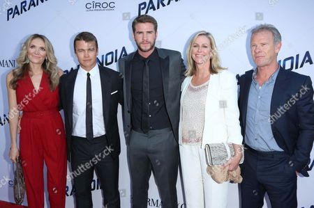 Stock Picture of Samantha Hemsworth, Luke Hemsworth, Liam Hemsworth, Leonie Hemsworth, Craig Hemsworth