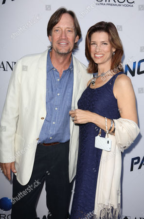 Stock Photo of Kevin Sorbo and Sam Jenkins