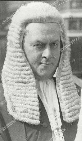 Sir Thomas Inskip The Attorney General Judge.