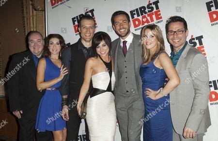 Blake Hammond, Kate Loprest, Bryce Ryness, Krysta Rodriguez, Zachary Levi, Sara Chase and Kristoffer Cusick