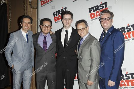 Editorial image of 'First Date' Broadway play opening night, New York, America - 08 Aug 2013