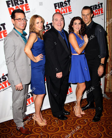 Editorial picture of 'First Date' Broadway play opening night, New York, America - 08 Aug 2013