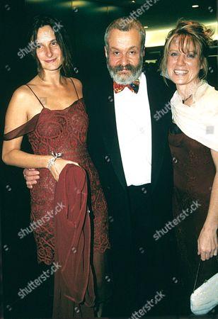 KATRIN CARTLIDGE, MIKE LEIGH AND LYNDA STEADMAN