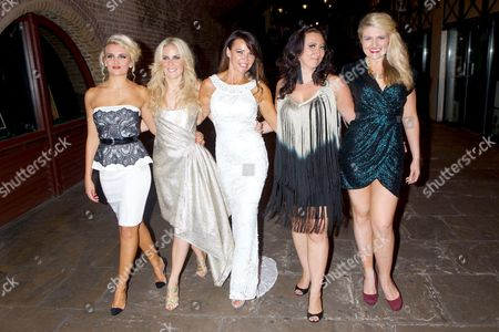 Angela Russell, Pippa Fulton, Lizzie Cundy, Alyssa Kyria and Lizzy Connolly