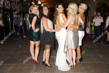 Lizzy Connolly, Alyssa Kyria, Lizzie Cundy, Pippa Fulton and Angela Russell