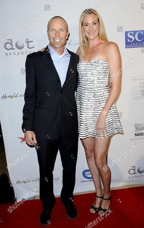 Kerri Walsh Jennings and husband Casey Jennings