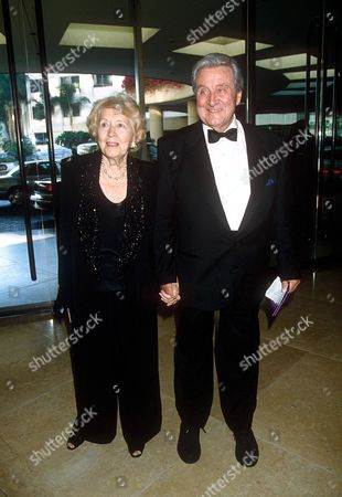 PATRICK MACNEE AND WIFE BABA