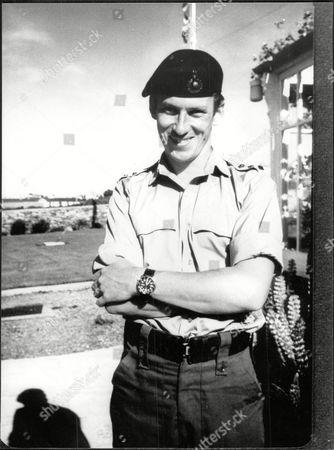 Royal Marine John Thurman Fiance Of Diana Hunt The Daughter Of Ex Falklands Governer Rex Hunt.