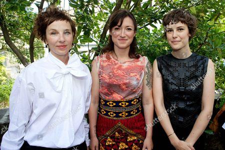 Meret Becker, Charlotte Roche, Carla Juri