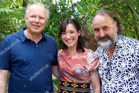 Axel Milberg, Charlotte Roche, Peter Rommel