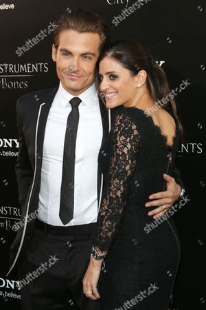 Kevin Zegers and wife Jaime Feld