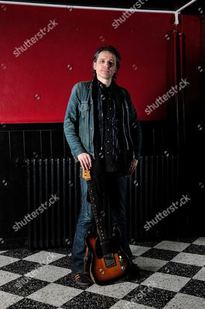 London, Britain - December 3: Judah Bauer Of American Alternative Rock Band The Jon Spencer Blues Explosion December 3