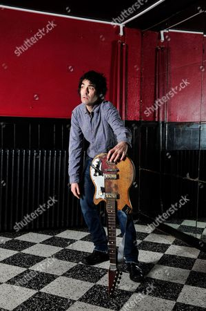 London, Britain - December 3: Jon Spencer Of American Alternative Rock Band The Jon Spencer Blues Explosion December 3