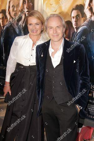 Stock Photo of Harald Zwart and wife Veslemøy Ruud Zwart