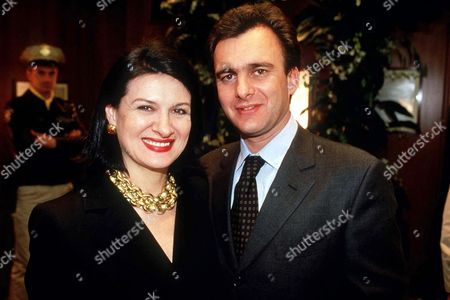 PALOMA PICASSO WITH HUSBAND ERIC THEVENNET