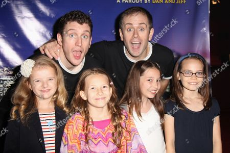 Stock Image of Daniel Clarkson, Jefferson Turner, Milly Shapiro, Sophia Gennusa, Bailey Ryon, Oona Laurence