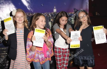 Stock Picture of Milly Shapiro, Sophia Gennusa, Bailey Ryon, Oona Laurence