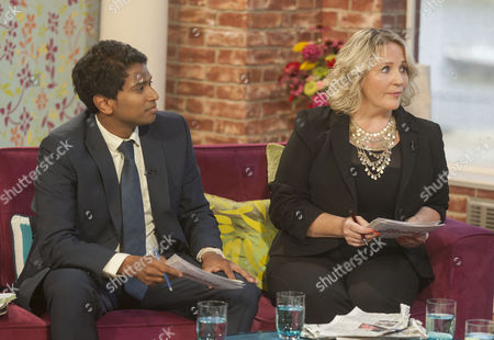 Editorial picture of 'This Morning' TV Programme, London, Britain - 13 Aug 2013