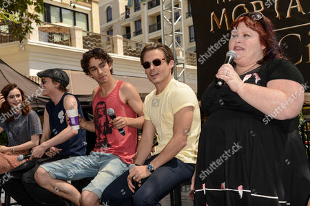 Editorial picture of 'The Mortal Instruments: City of Bones' film Q&A, Los Angeles, America - 13 Aug 2013