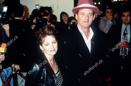 JOANNE WHALLEY KILMER AND BILL MURRAY