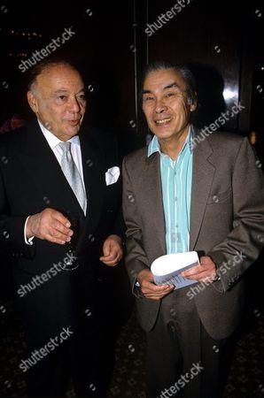 Herbert Lom and Burt Kwouk