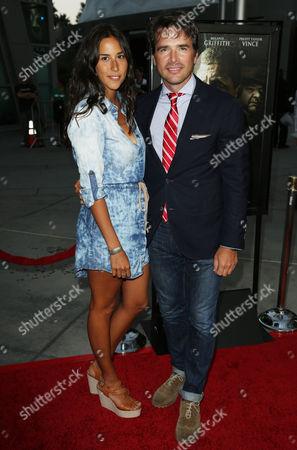 Stock Photo of Matthew Settle and Maria Alfonsin