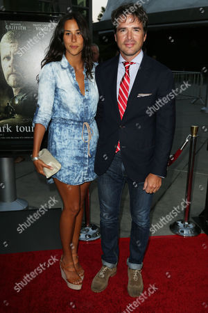 Stock Image of Matthew Settle and Maria Alfonsin