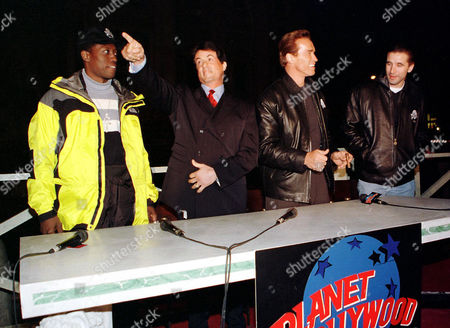 WESLEY SNIPES, SYLVESTER STALLONE, ARNOLD SCHWARZENEGGER AND WILLIAM BALDWIN