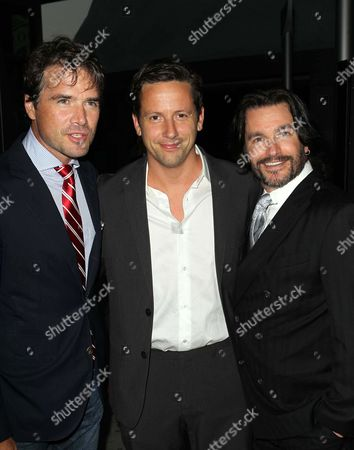 Stock Picture of Matthew Settle, Ross McCall, Frank John Hughes