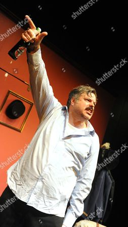 Editorial picture of 'Oliver Reed:Wild Thing' play performed at the St James Theatre Studio, London, Britain - 31 Jul 2013