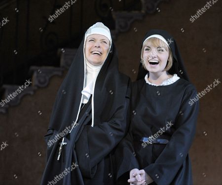 Helen Hobson as Mother Abbess, Charlotte Wakefield as Maria