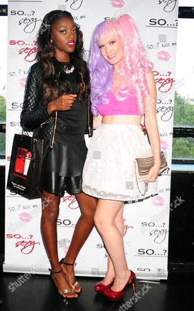 Alisha White and Kitty Brucknell