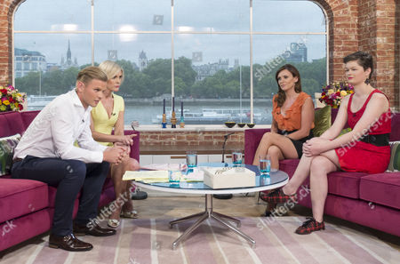 Jeff Brazier and Jenni Falconer with Genevieve Mullen and Tasha Skerman-Gray