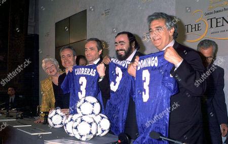 PAVAROTTI, DOMINGO, CARRERAS, LINE RENARD AND JEAN TIBERI