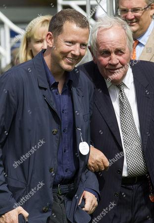 Nat Rothschild and trainer Richard Hannon