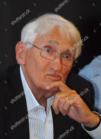 Editorial photo of German philosopher Juergen Habermas at the World Congress of Philosophy in Athens, Greece - 06 Aug 2013