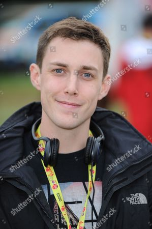 Chris Stark in the Virgin Media Louder Lounge